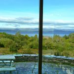 Ferienhaus, Kerry, Irland, Yvonnes 08, aus dem Esszimmerfenster. Auch bewölkt ist der Blick eindrucksvoll, Ferienhäuser mit Meerblick mieten in Irland - Cottages mit Seeblick mieten entlang des Ring of Kerry in Irland