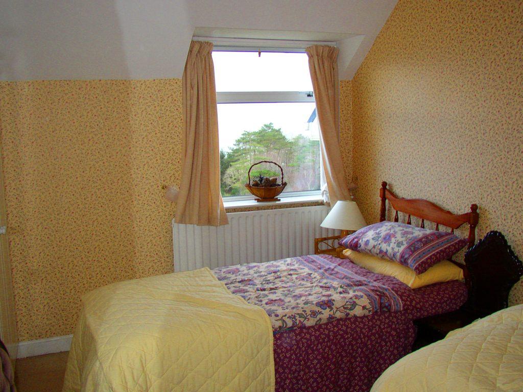 Ferienhäuser mit Meerblick mieten in Irland - Cottages mit Seeblick mieten entlang des Ring of Kerry in Irland, Ferienhaus, Kerry, Irland, Yvonnes 13, Schlafzimmer 2, zwei Einzelbetten