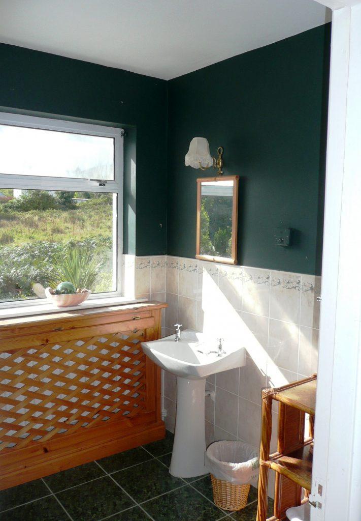 Ferienhäuser mit Meerblick mieten in Irland - Cottages mit Seeblick mieten entlang des Ring of Kerry in Irland, Ferienhaus, Kerry, Irland, Yvonnes 14, eines der Bäder