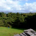 Ferienhäuser mit Meerblick mieten in Irland - Cottages mit Seeblick mieten entlang des Ring of Kerry in Irland, Ferienhaus, Kerry, Irland, Yvonnes 25, nochmals der Garten, dieses Mal von der Terrasse aus