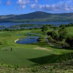 Golf Club less than 2km from Heron Water Cottage,. Rent an Irish Holiday Home with Sea View along the Wild Atlantic Way in Kerry, Rent a Cottage with Seaview in Ireland along the Ring of Kerry.
