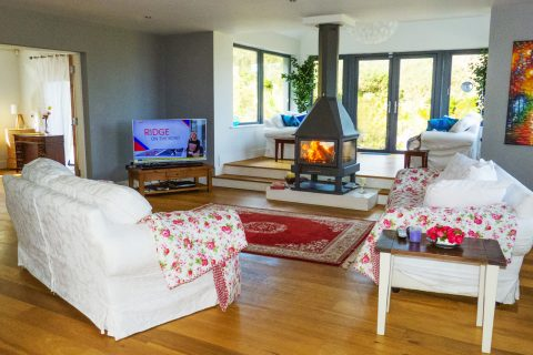 Holiday Home, Kerry, Ireland, Michaels 03, Living Room, Rent an Irish Cottage with Sea View along the Wild Atlantic Way in Kerry, Rent an Irish Cottage with Sea View along the Wild Atlantic Way in Kerry