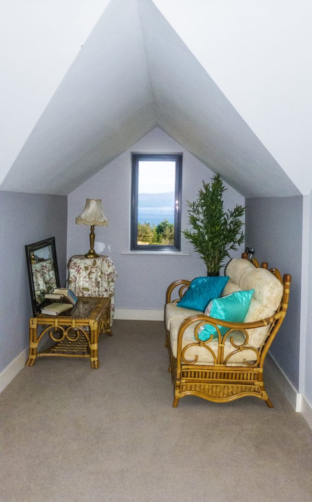 Holiday Home, Kerry, Ireland, Michaels 08, A Reading Corner, Rent an Irish Cottage with Sea View along the Wild Atlantic Way in Kerry