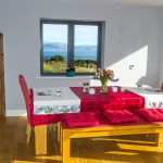 Holiday Home, Kerry, Ireland, Michaels 08, Dining, Pict. 2, Rent an Irish Cottage with Sea View along the Wild Atlantic Way in Kerry