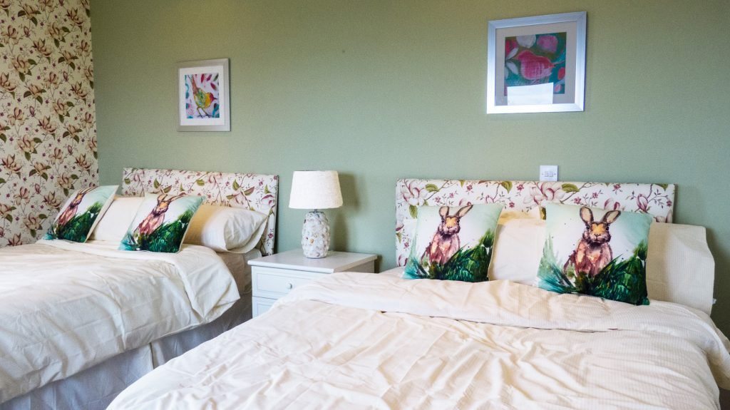 Holiday Home, Kerry, Ireland, Michaels 20, Bedroom 4, Pict. 1, Rent an Irish Cottage with Sea View along the Wild Atlantic Way in Kerry