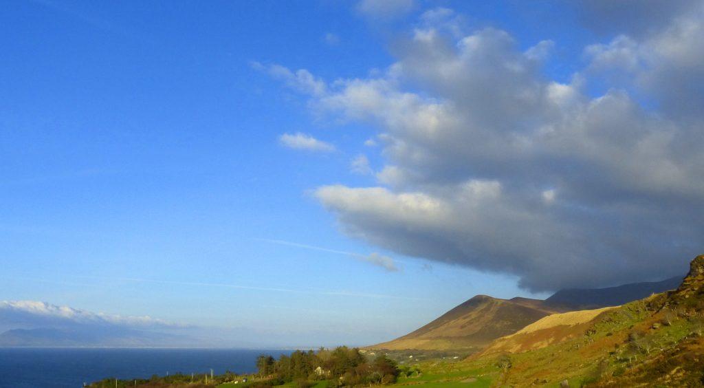 Ferienhaus mit Meerblick, Irland, Kells, Kerry, Michael's, Aussicht, Ferienhäuser mit Meerblick mieten in Irland - Cottages mit Seeblick mieten entlang des Ring of Kerry in Irland