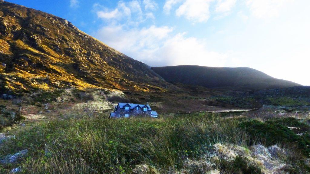 Ferienhaus mit Meerblick, Irland, Kells, Kerry, fir-darrig.net, Michael's, Ansicht, Ferienhäuser mit Meerblick mieten in Irland - Cottages mit Seeblick mieten entlang des Ring of Kerry in Irland