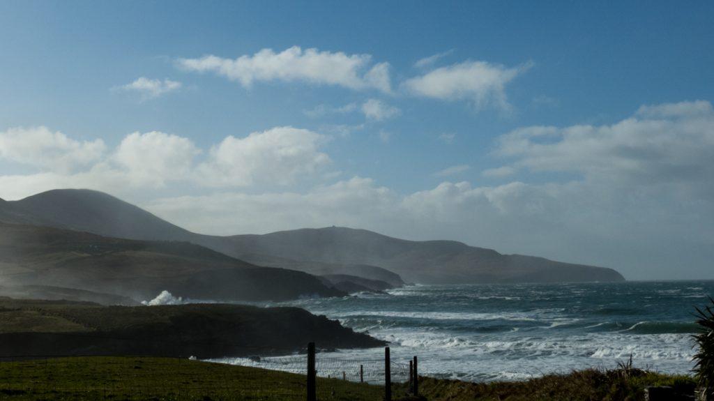 Ferienhaus, Kerry, Irland, Tig na Cille 10, Aussicht, Ferienhäuser mit Meerblick mieten in Irland - Cottages mit Seeblick mieten entlang des Ring of Kerry in Irland