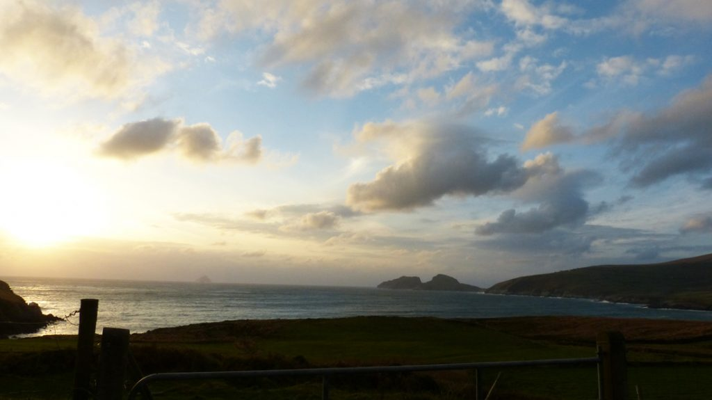 Ferienhäuser mit Meerblick mieten in Irland - Cottages mit Seeblick mieten entlang des Ring of Kerry in Irland, Ferienhaus, Kerry, Irland, Tig na Cille 2.1, Aussicht