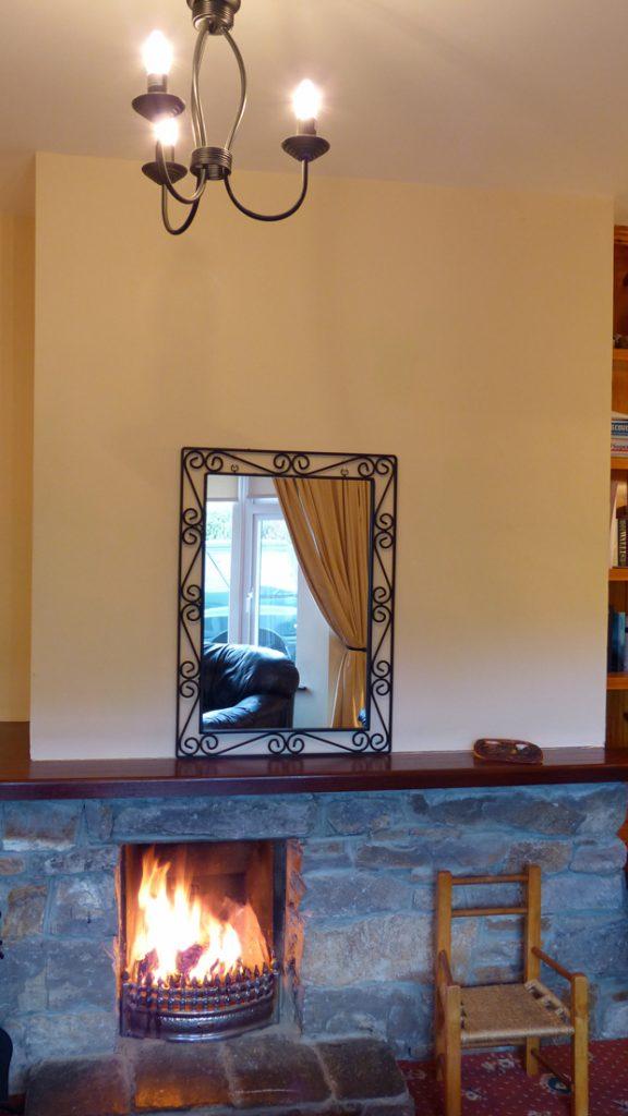 Ferienhäuser mit Meerblick mieten in Irland - Cottages mit Seeblick mieten entlang des Ring of Kerry in Irland, Ferienhaus, Kerry, Irland, Tig na Cille 5, Wohnzimmer Bild 1