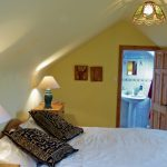 Ferienhäuser mit Meerblick mieten in Irland - Cottages mit Seeblick mieten entlang des Ring of Kerry in Irland, Ferienhaus, Kerry, Irland, Tig na Cille 6, Schlafzimmer 1