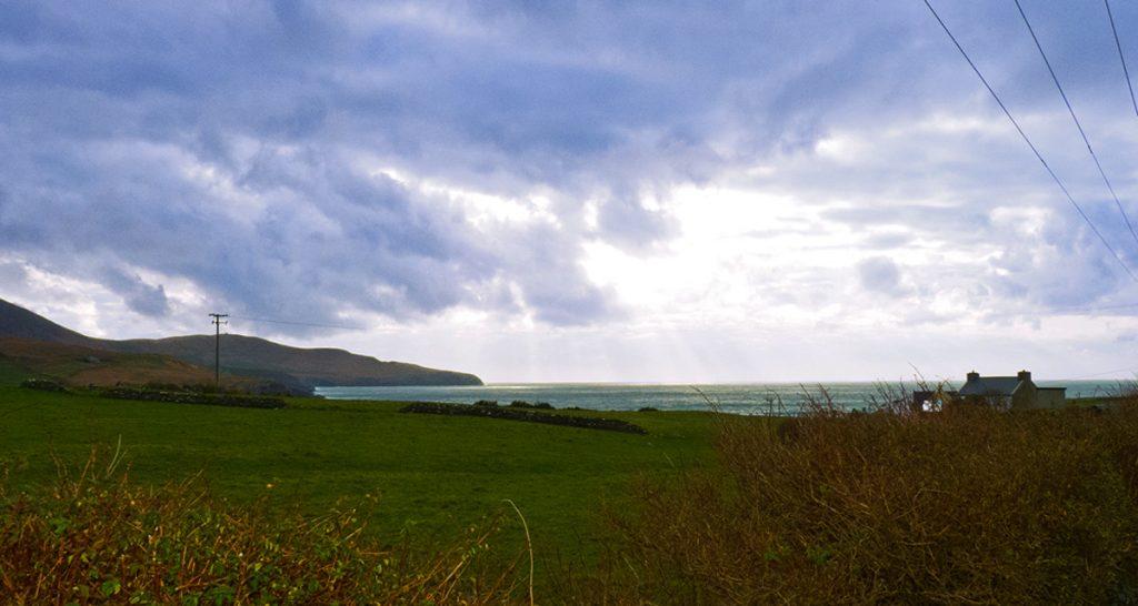 Ferienhäuser mit Meerblick mieten in Irland - Cottages mit Seeblick mieten entlang des Ring of Kerry in Irland, Ferienhaus, Kerry, Irland, Tig na Cille 7, Aussicht