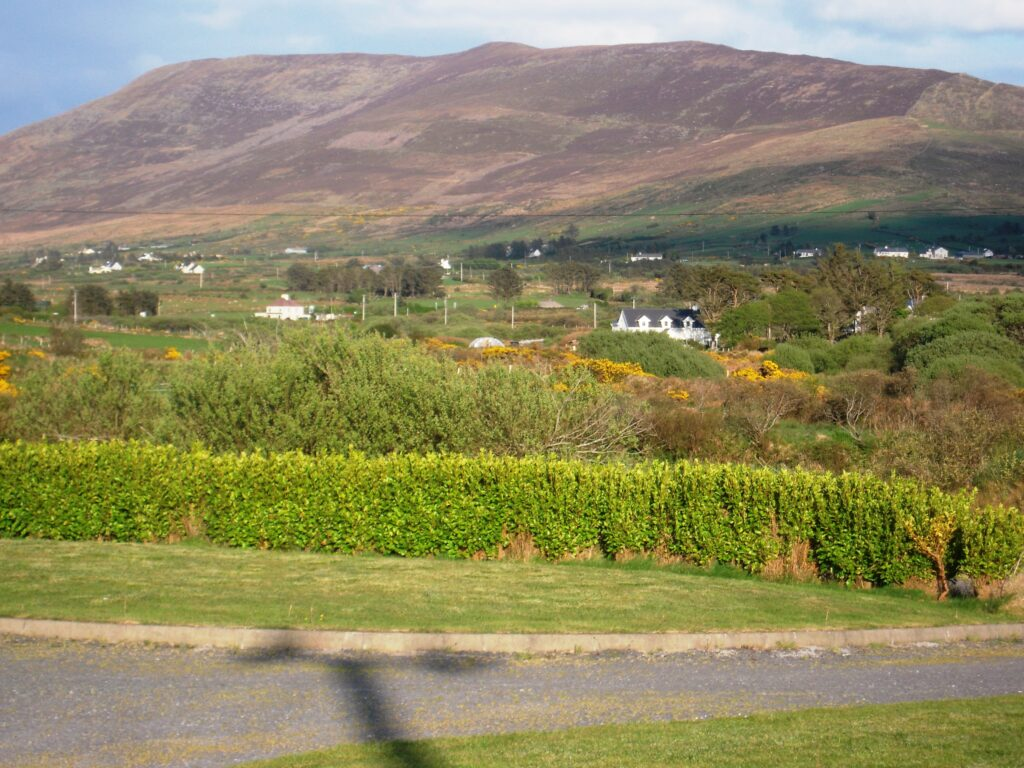 Holiday Home, Cahersiveen, Kerry, Irland, Margarets Outside