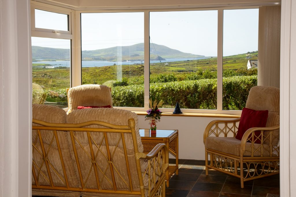 Ferienhaus, Kerry, Irland, Serenity,Sunroom, Holiday Home, Kerry, Ireland