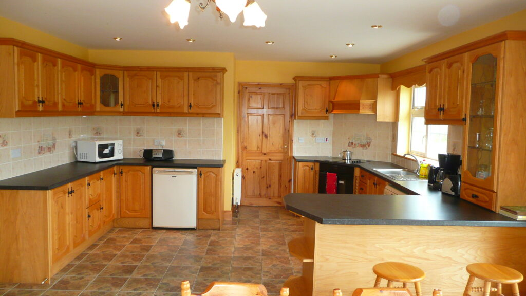 Holiday Home, Cahersiveen, Kerry, Irland, Margarets Kitchen