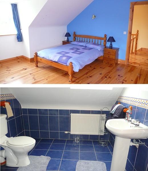 Holiday Home, Cahersiveen, Kerry, Irland, Margarets Bathroom 2