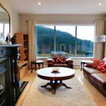 Das zweite Wohnzimmer von Ferienhaus Castle View in Glenbeigh in Kerry, Irland.